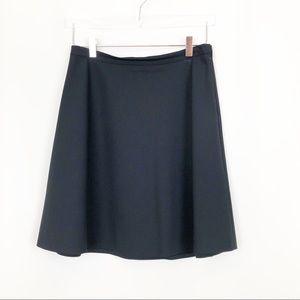 Theory navy blue zulle skirt